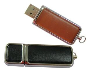 Leather Shell Pen Drive, USB Storage, Suitable for Promotional Gifts pictures & photos