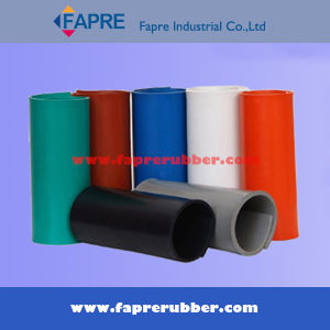 Nr/SBR/Br/Cr/NBR/EPDM/Iir/Silicone/Vititon Rubber Sheet in Roll. pictures & photos