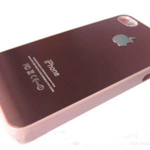 CNC Fiber Type Laser Machine Marking on Phone Bumper Case pictures & photos
