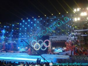 Olympic Game Stage System Steel Ringlock Scaffolding pictures & photos