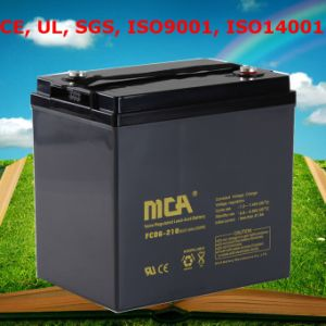AGM Battery VRLA Battery Deep Cycle Batteries 6V pictures & photos