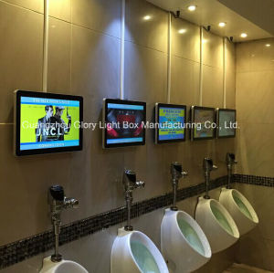 Washing Room Full HD Wall Mounted Kiosk LED Advertising Player pictures & photos