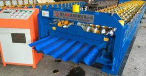 Corrugated Roofing Panel Sheet Roll Formning Machine pictures & photos