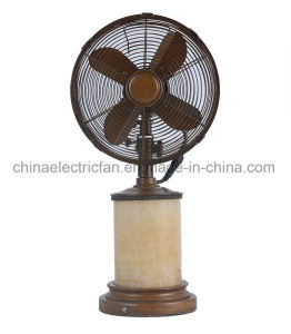 Wholesale Fashion Electric Small Size Decorative Table Fan pictures & photos