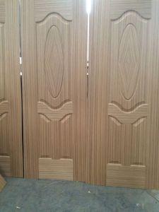 HDF Molded Sapeli Fancy Door Skin 2150X720X3mm pictures & photos