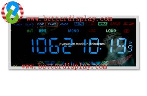 Va Negative with Blue Backlight LCD Panel USD in Meter pictures & photos