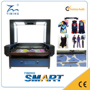 Printed Fabric Cutting Machine with CCD Camera pictures & photos