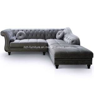 Modern Classic Sectional Living Room Hotel Sofa pictures & photos