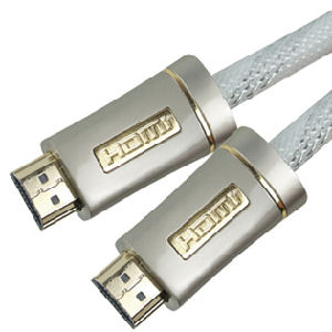 Double Color Metal HDMI Cable