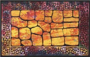 Flocked Rubber Door Mat /Rugs 8828-01 pictures & photos