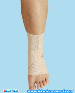 Elastic Ankle Bandage, Orthopedic Products (SC-AK-005) pictures & photos