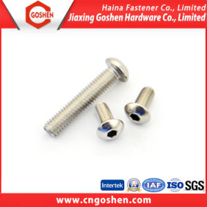 Stainless Steel ISO 7380 Hexagon Socket Button Head Screws pictures & photos