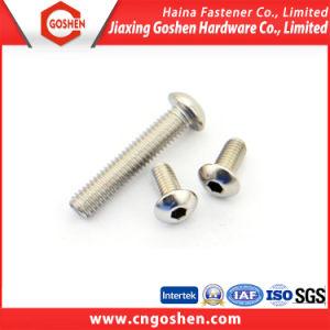 Stainless Steel ISO 7380 Pan Head Hex Socket Cap Machine Screw pictures & photos