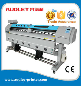 Audley High Speed 1.6m Eco Solvent Printer Dx7 with CE, 1440dpi pictures & photos