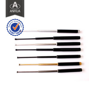 High Quality Police Steel Expandable Baton pictures & photos