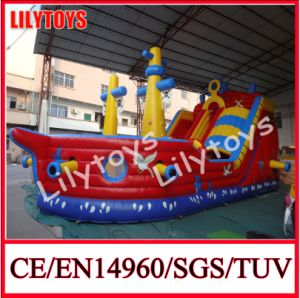 Inflatable Pirate Ship, Inflatable Slide pictures & photos