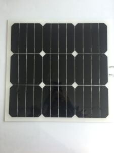 Solar Cell Price 30W Sunpower Semi Flexible Solar Panel 20.5V pictures & photos