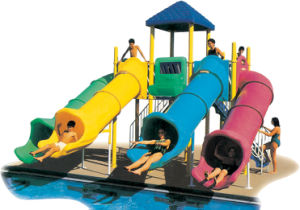 Plastic Tube Slide Water Park Playground pictures & photos