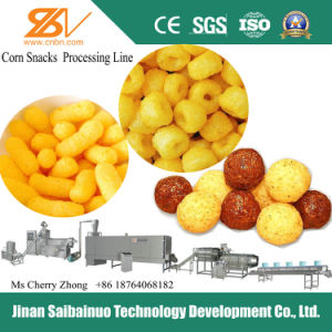 Industrial Automatic Puff Cereals Corn Snacks Food Machine
