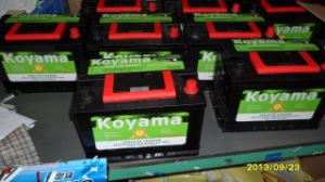 56618mf DIN Mf Automotive Battery -12V66ah (56618MF DIN66) pictures & photos