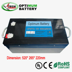 High Quality and Deep Cycles Backup Lithium Battery 12V 300ah pictures & photos