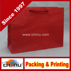 Red Kraft Paper Bag (2125) pictures & photos