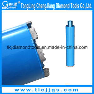 Professional Brazed Diamond Core Drill Bit pictures & photos