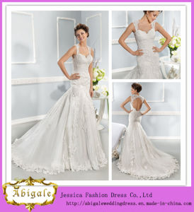 New Fashion Floor-Length A-Line Sweetheart Keyhole Back Panel Train White Elie Saab Wedding Dresses (PD10037)