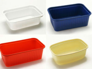 Automatic Plastic Food Plate Dish Tray Thermoforming Machine pictures & photos
