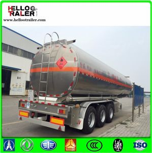 Tri-Axle 45000 Litres Diesel Fuel Petrol Tank Semi Trailer pictures & photos