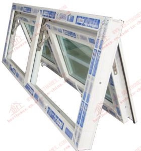 High Quality UPVC Double Awning Window (BHP-WA02) pictures & photos