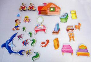Professional Children′s 3D Cartoon Ovc Rubber Fridge Magnet pictures & photos