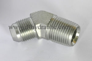 45 Degree Elbow Jic/NPT Pipe Thread Fittings pictures & photos