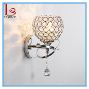 Crystal Wall Lamp Light Hotel Sitting Room Bedroom Decorative Bed Wall Lamp pictures & photos