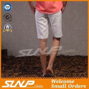 2016 Wholesale Customized Men′s Casual Cotton/Linen Chino Short Pants