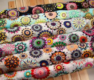 Chiffon Printed Summer Clothing Cool Fabric