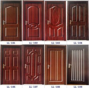 Plain HDF Door Skin for Door pictures & photos