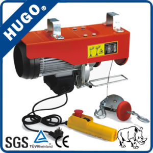 Mini 400 Kg Cable Electric Wire Rope Winch Hoist pictures & photos