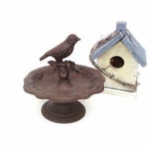 Polyresin Bird Bath/Polyresin Bird Feeder for Garden Decoration pictures & photos
