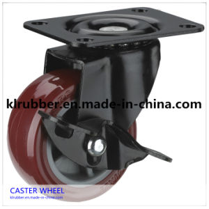 Industrial Swivel Heavy Duty PU Caster Wheel pictures & photos