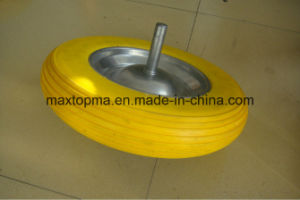 Quality Wheelbarrow PU Foam Wheel pictures & photos