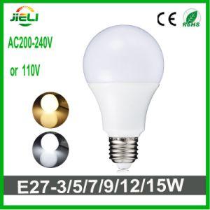 No Driver SMD2835 AC200-240V 7W LED Bulb pictures & photos