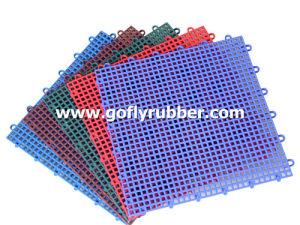 Outdoor Suspended Interlocking Sport Floor Tile