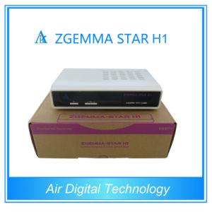 Zgemma-Star Enigma 2 Linux OS Digital Satellite Receiver Zgemma-Star H1 Combo Satellite TV Receiver pictures & photos
