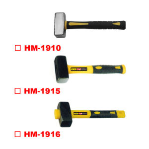 Germany Type Stoning Hammer with TPR Plastic Handle pictures & photos
