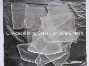 Super White Clear Sheet Glass Cullets pictures & photos