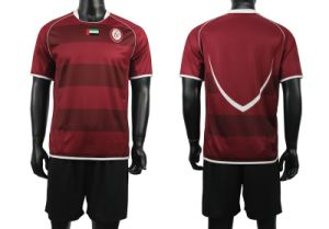 100% Polyester Make Your Own Custom Sublimated Soccer Uniform pictures & photos