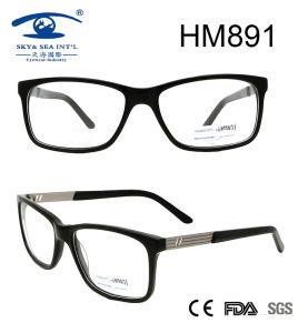 Fashion Design Wholesale Pollow Acetate Eyeglasses (HM891) pictures & photos