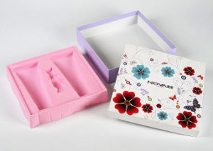 Luxury Mildy Wash Packing Box with Pink Blister Tray pictures & photos