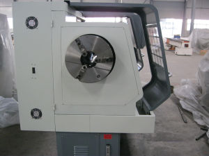 Cheap CNC Lathe CNC Pipe Threading Machine (QK1313) pictures & photos